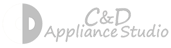 C & D Appliance Studio Logo